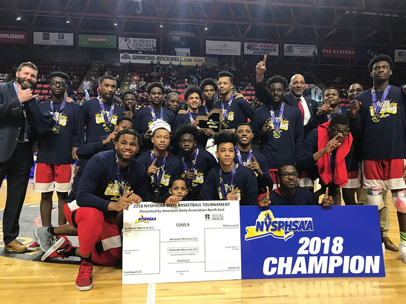 Boys Win State Basketball Title