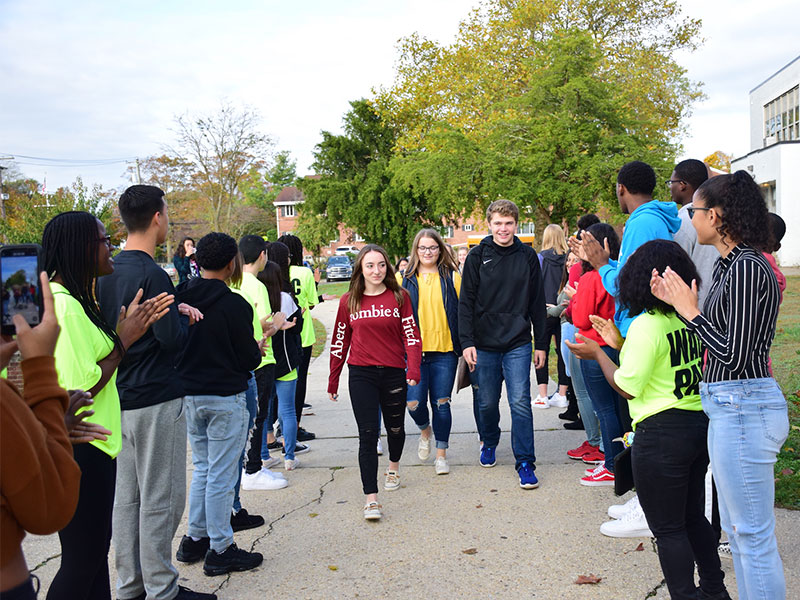 Amityville, Bayport-Blue Point Students Make Connections