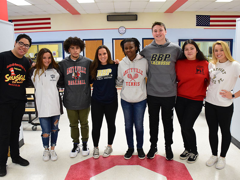 High School Students Make a Cross County Connection