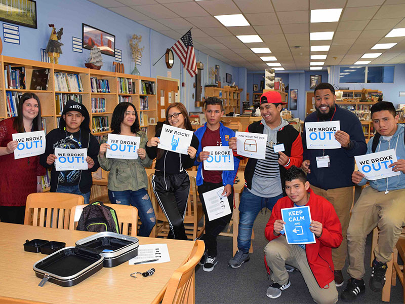 High School Students Crack the Code to Knowledge