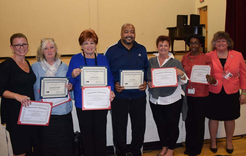 Trustees Honored for School Board Recognition Week