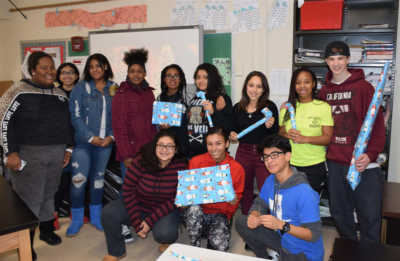 Amityville Students Grant Christmas Wishes