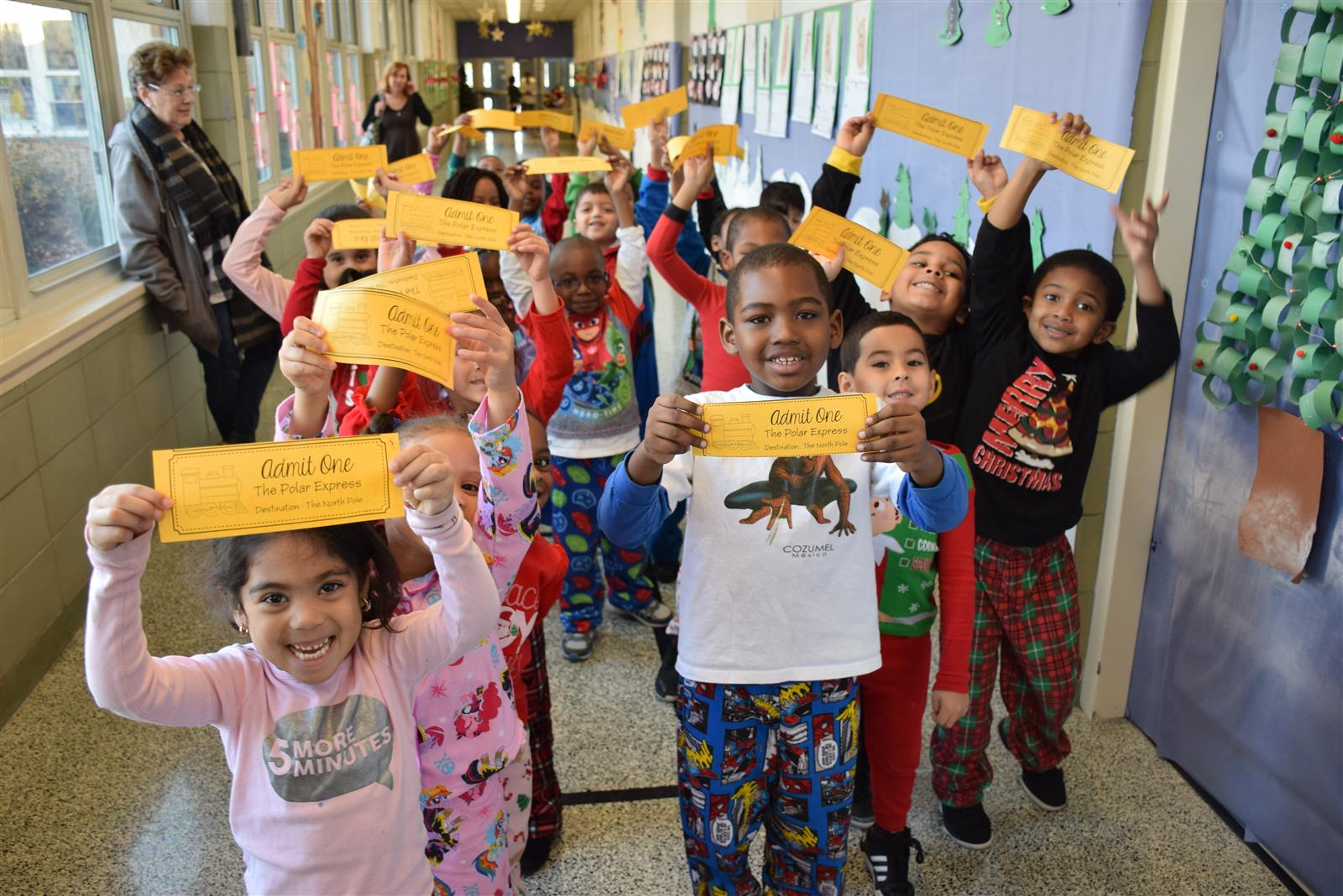 Kindergartners Take A Ride on the Polar Express