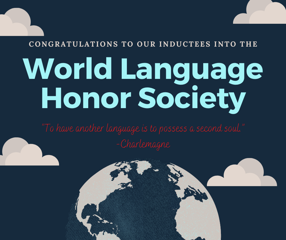 Language Honor Society Welcomes New Members