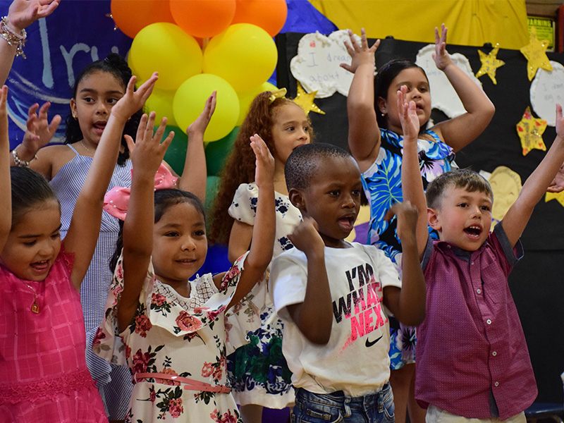 Northeast Kindergartners are Moving on and Dreaming Big
