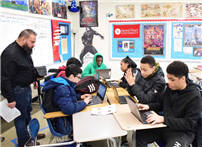 Middle School Students Analyze Dr. King's Legacy photo 3