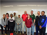 Veterans Make Connection With Amityville Students photo thumbnail139389